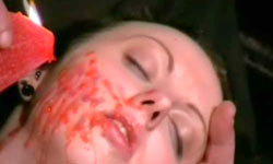 Facial hot waxing